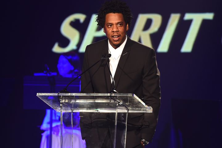 Mandatory Credit: Photo by Frank Micelotta/PictureGroup/REX/Shutterstock (9928366d) Jay Z City of Hope Gala, Show, Los Angeles, USA - 11 Oct 2018