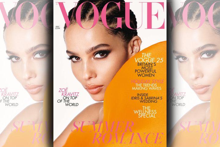 Zoe Kravitz. Photo: Steven Meisel for British Vogue