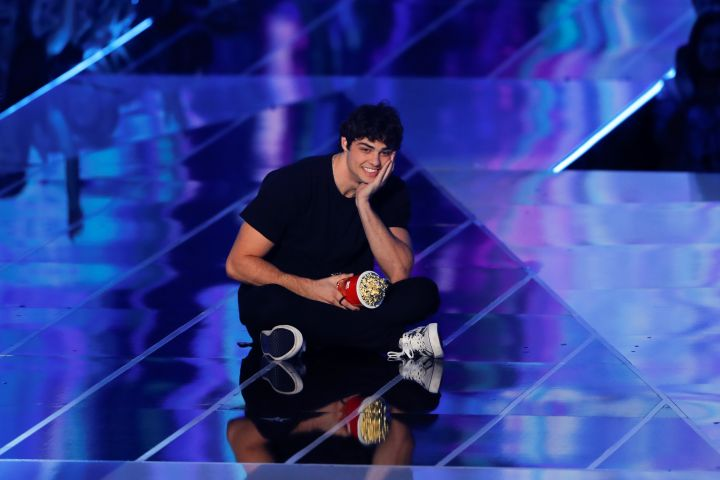 "2019 MTV Movie and TV Awards - Noah Centineo wins ""Breakthrough Performance"" award - Santa Monica, California, U.S., June 15, 2019. Picture taken June 15, 2019.  REUTERS/Mike Blake"