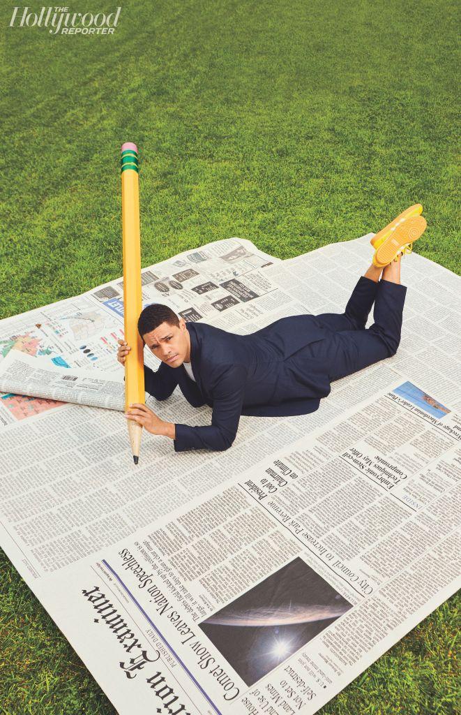 Trevor Noah. Photo: Alexandra Gavillet for The Hollywood Reporter