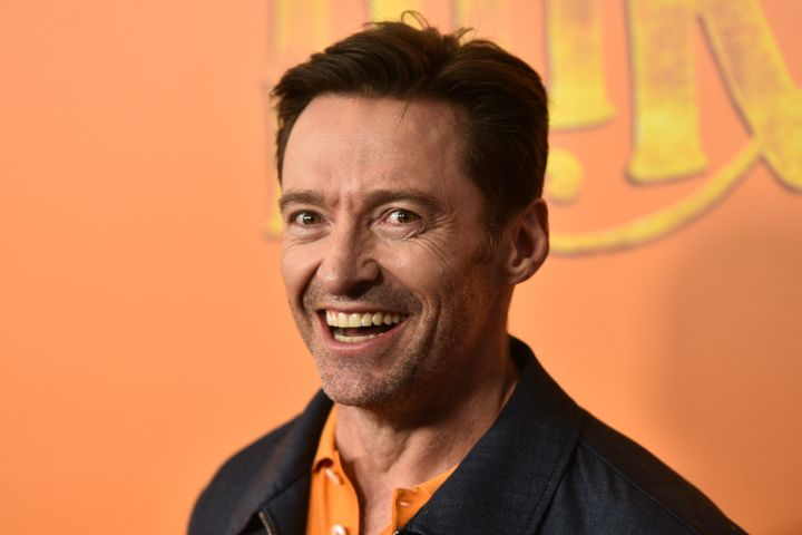 Mandatory Credit: Photo by Erik Pendzich/Shutterstock (10189820aw) Hugh Jackman 'Missing Link' film premiere, Arrivals, New York, USA - 07 Apr 2019