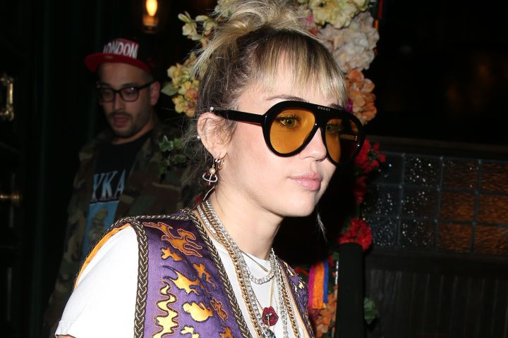 Miley Cyrus. Photo: Beretta/Sims/REX/Shutterstock