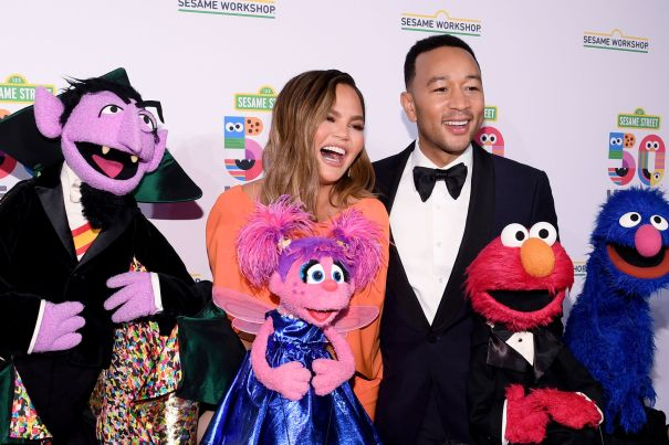 Hanging Out With 'Sesame Street'