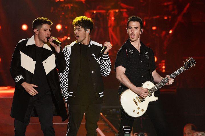 Jonas Brothers -  imageSPACE/REX/Shutterstock