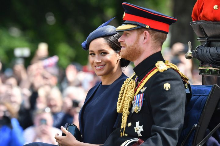 Meghan Duchess of Sussex, Prince Harry - Tim Rooke/Shutterstock