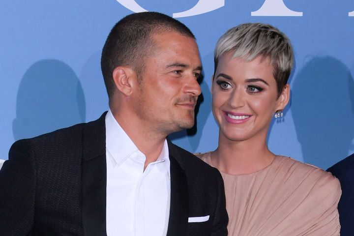 Orlando Bloom and Katy Perry. Photo: David Fisher/Shutterstock
