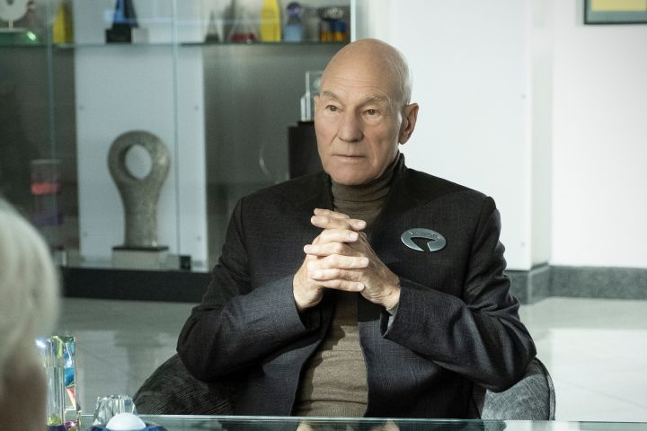 Patrick Stewart in 'Star Trek: Picard'. Photo: Trae Patton/CBS