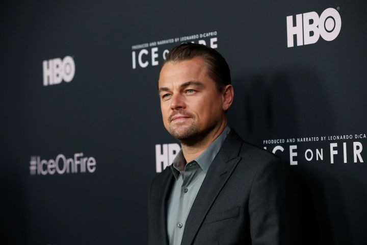 "Narrator and Producer Leonardo DiCaprio poses at a premiere for the HBO documentary film ""Ice on Fire"" in Los Angeles, California, U.S., June 5, 2019. REUTERS/Mario Anzuoni"