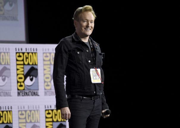 Conan O'Brien Brings Tom Cruise To Comic-Con