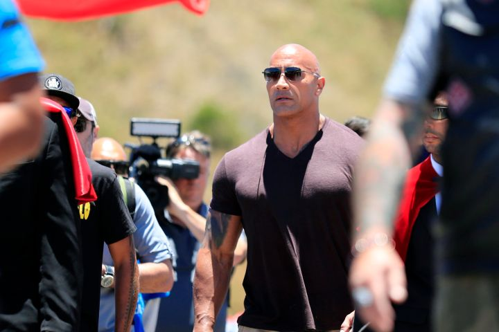 Dwayne Johnson. Photo: Jamm Aquino/Honolulu Star-Advertiser via AP