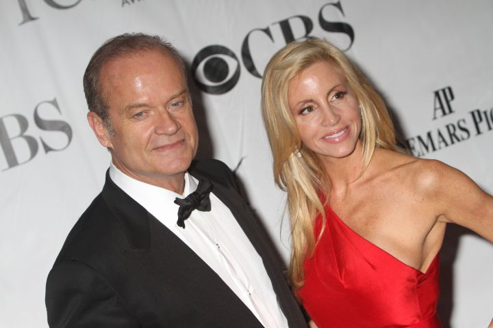Photo by Greg Allen/Shutterstock (1195754am) Kelsey Grammer and Camille Grammer 64th Annual Tony Awards, New York, America - 13 Jun 2010