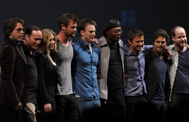 'The Avengers' Assemble For The First Time