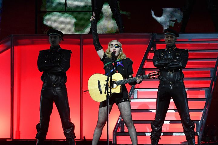 Madonna. Photo: Kevin Mazur/Getty Images for Pride Island