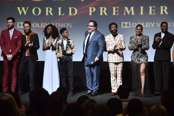 'The Lion King' Roaring World Premiere