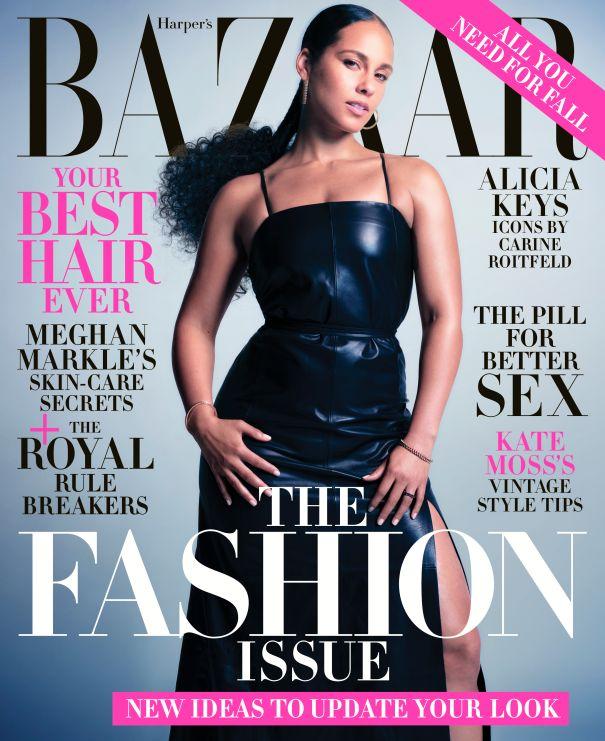 Alicia Keys - Harper's Bazaar