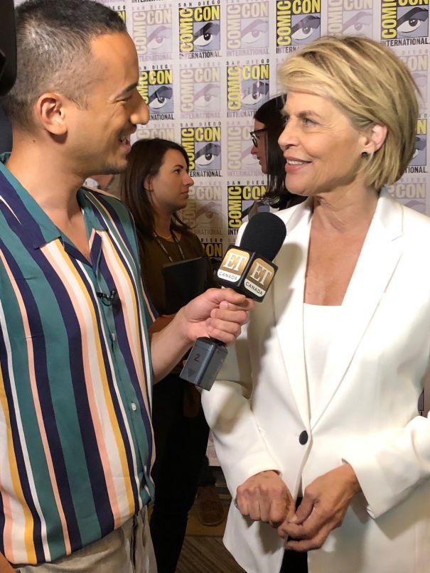 Linda Hamilton Spills On 'Terminator: Dark Fate'