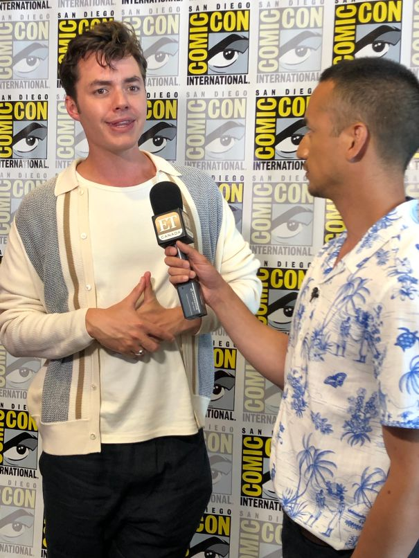 Jack Bannon Excited About 'Pennyworth'