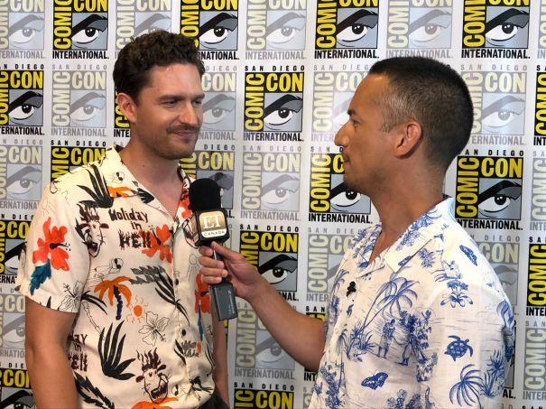 Ben Aldridge At Comic-Con