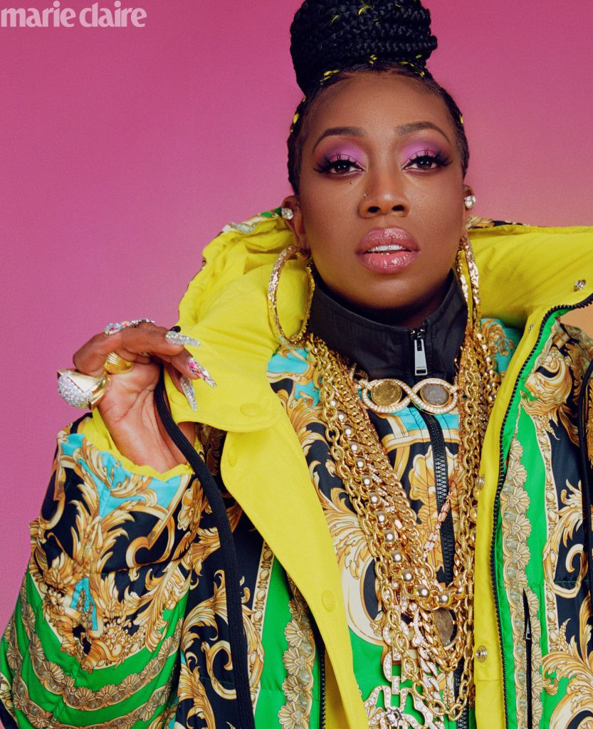 Missy Elliott: Photo: Micaiah Carter for Marie Claire