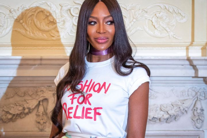 Photo by James Shaw/Shutterstock (10320631f) Naomi Campbell The Fashion Awards announcement launch, The Ritz, London, UK - 24 Jun 2019 Caroline Rush and Naomi Campbell, BFC Chair and supermodel, co-host the event announcing details for The Fashion Awards 2019. Sponsored by Fashion For Relief