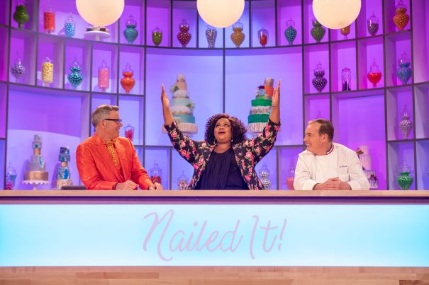 SURPRISE: 'Nailed It', BEST REALITY COMPETITION SHOW