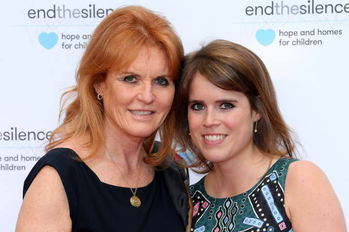 Photo by David Fisher/Shutterstock (8852095z) Sarah Ferguson Duchess of York and Princess Eugenie End the Silence charity fundraiser, Abbey Road Studios, London, UK - 31 May 2017