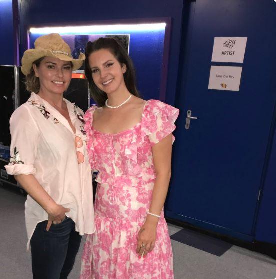 Shania Twain Fangirls Over Lana Del Rey