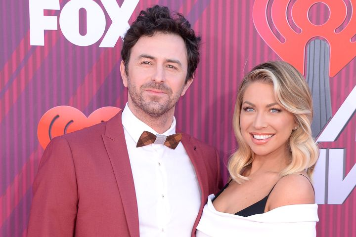 Mandatory Credit: Photo by Broadimage/Shutterstock (10156131ie) Stassi Schroeder, Beau Clark iHeartRadio Music Awards, Arrivals, Microsoft Theater, Los Angeles, USA - 14 Mar 2019