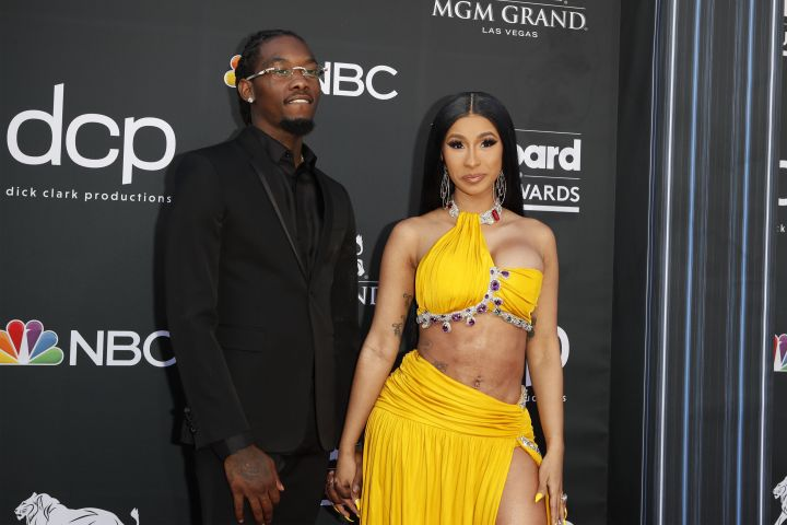 Cardi B and Offset at BMA's
