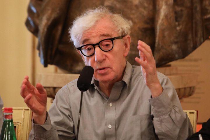 Woody Allen. Photo: MATTEO BAZZI/EPA-EFE/Shutterstock