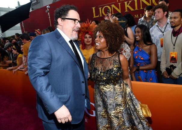 Jon Favreau And Alfre Woodard Reunite