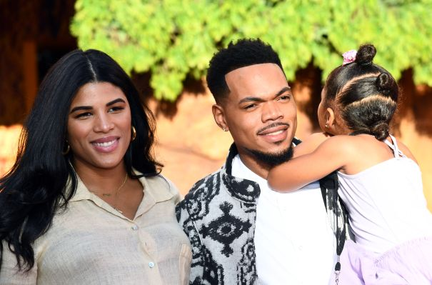 Chance The Rapper Steps Out With His Family