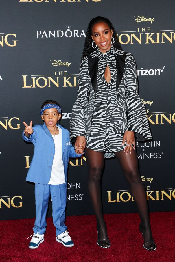 Kelly Rowland Brings Her Son To 'The Lion King'