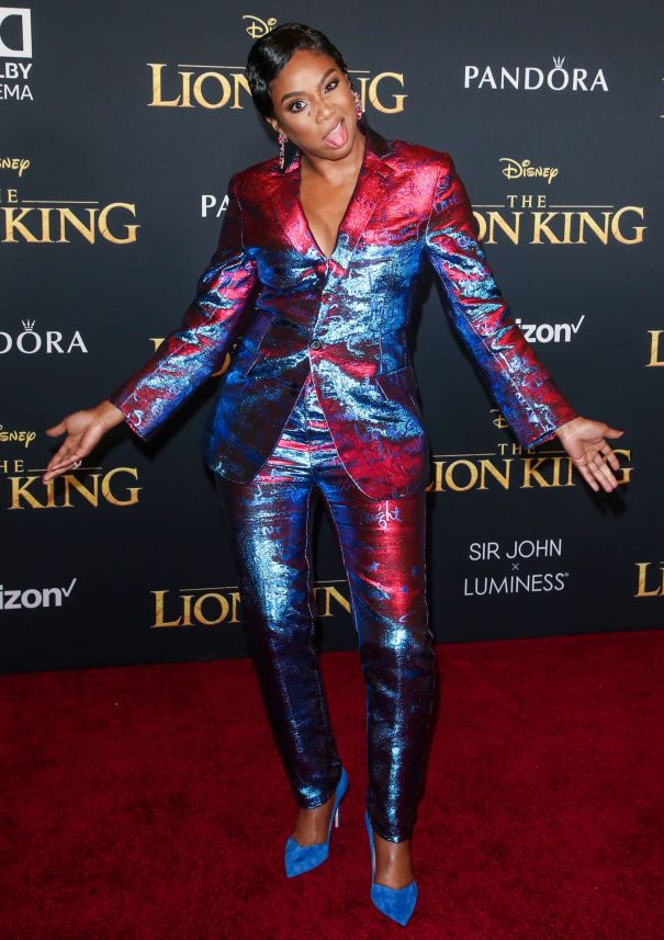 Tiffany Haddish Shimmers At 'The Lion King' Premiere