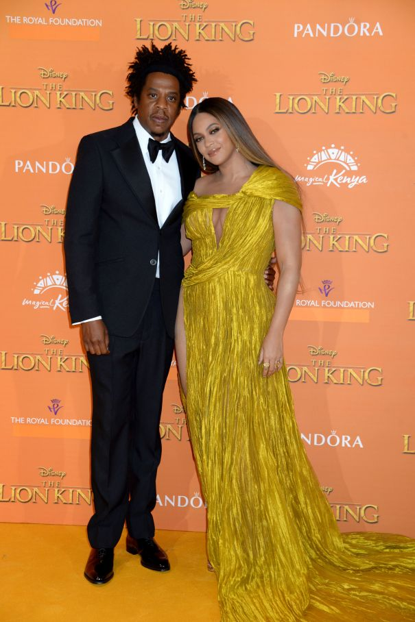 Beyonce And Jay-Z Hit The Yellow Carpet