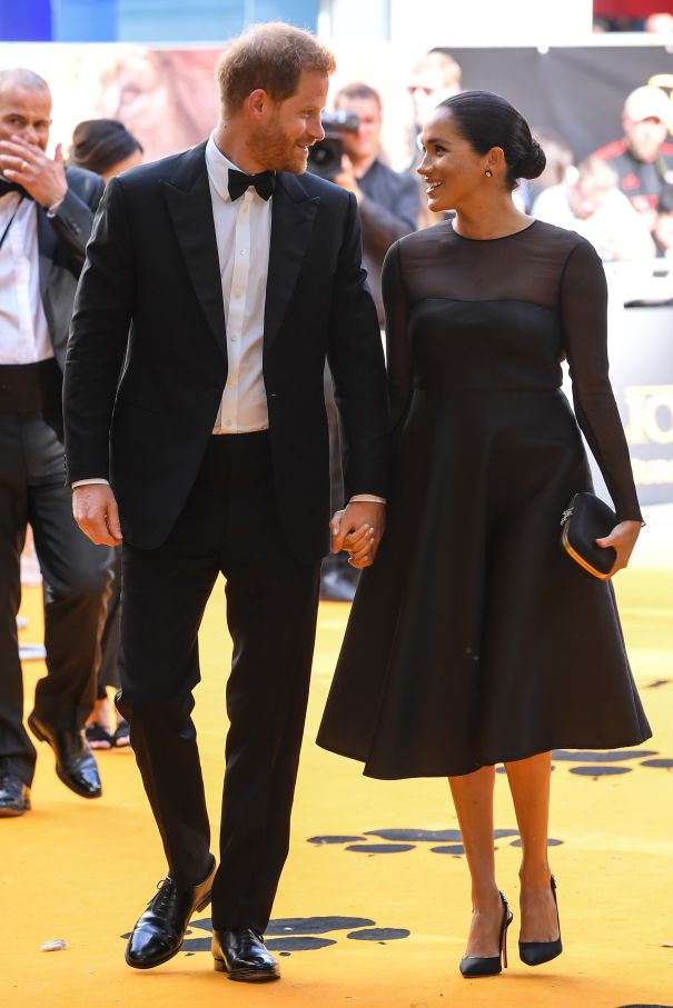 The Duke And Duchess Make Their Red Carpet Debut