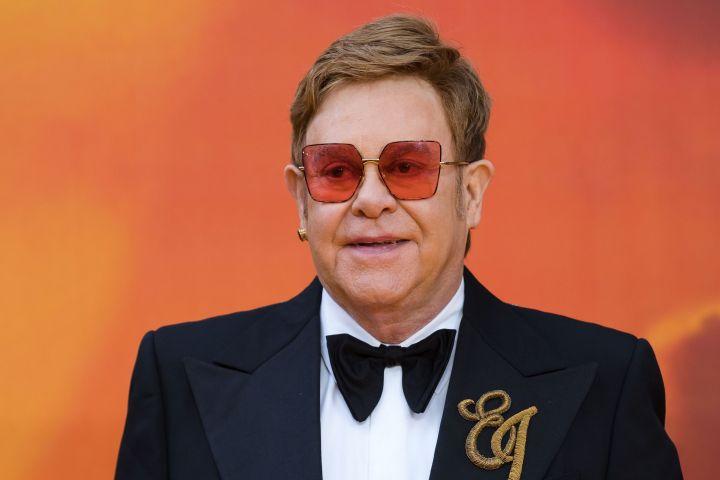 Elton John. Photo: VICKIE FLORES/EPA-EFE/Shutterstock