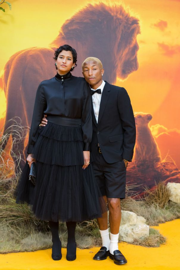 Pharrell And His Wife Have A European Date Night