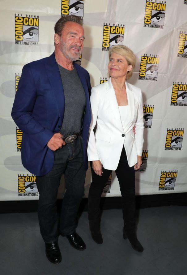'Terminator: Dark Fate' Stars Reunite At Comic-Con
