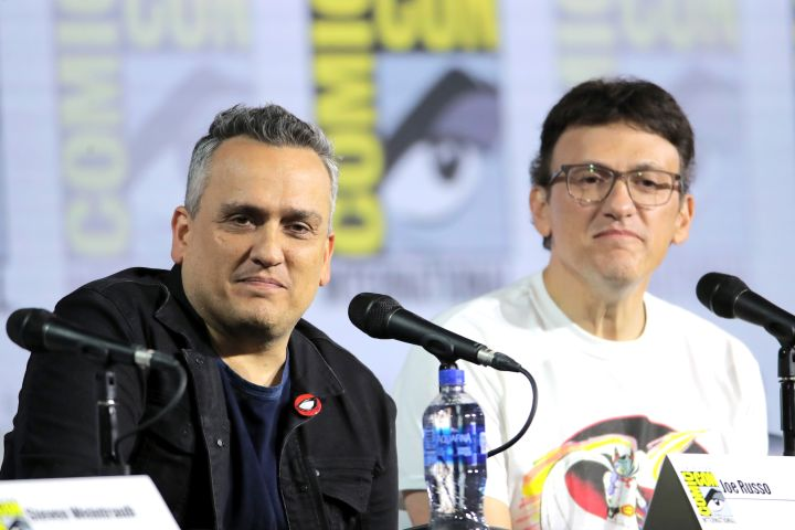 Mandatory Credit: Photo by Chelsea Lauren/Variety/Shutterstock (10341156e) Joe Russo and Anthony Russo A Conversation with the Russo Brothers, Comic-Con International, San Diego, USA - 19 Jul 2019