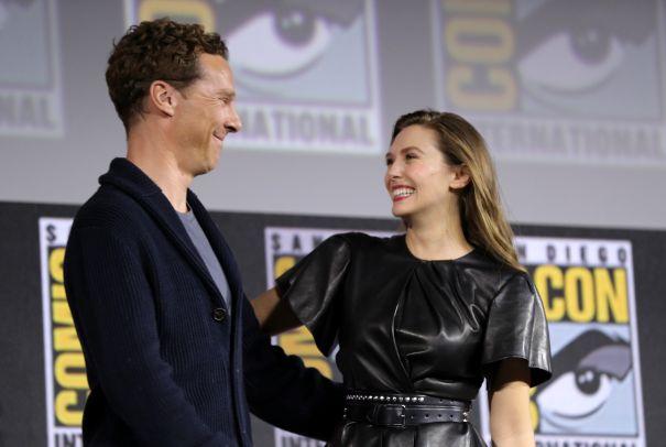 Benedict Cumberbatch And Elisabeth Olsen
