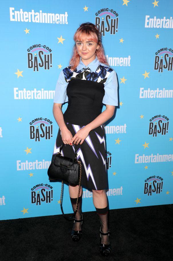 Maisie Williams At EW Bash