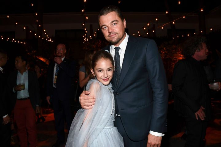 Mandatory Credit: Photo by Michael Buckner/Variety/Shutterstock (10343703a) Julia Butters and Leonardo DiCaprio 'Once Upon a Time in Hollywood' film premiere, After Party, TCL Chinese Theatre, Los Angeles, USA - 22 Jul 2019
