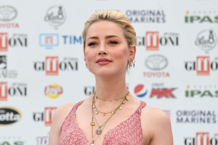 Amber Heard. Photo: Maria Laura Antonelli/AGF/Shutterstock