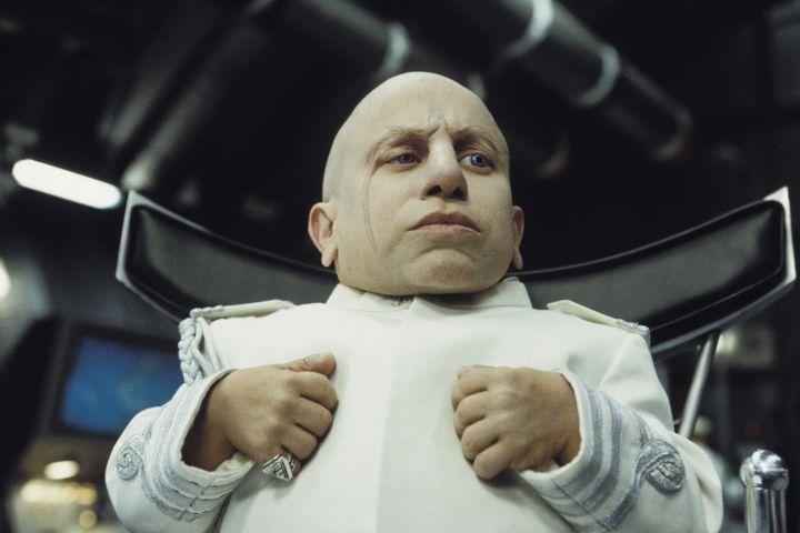 Verne Troyer as Mini-Me - Melinda Sue Gordon/New Line/Kobal/Shutterstock