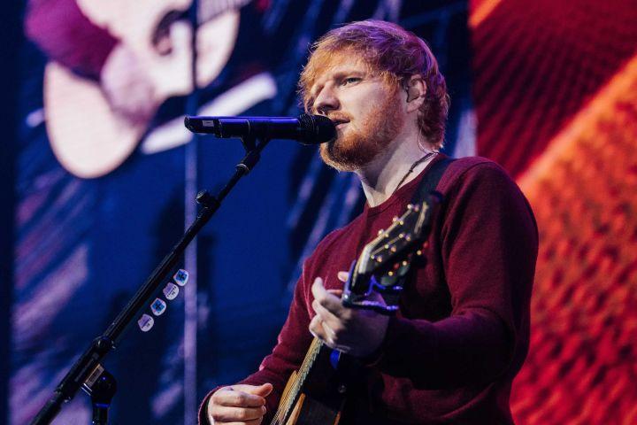 Ed Sheeran. Photo: Scott Garfitt/Shutterstock