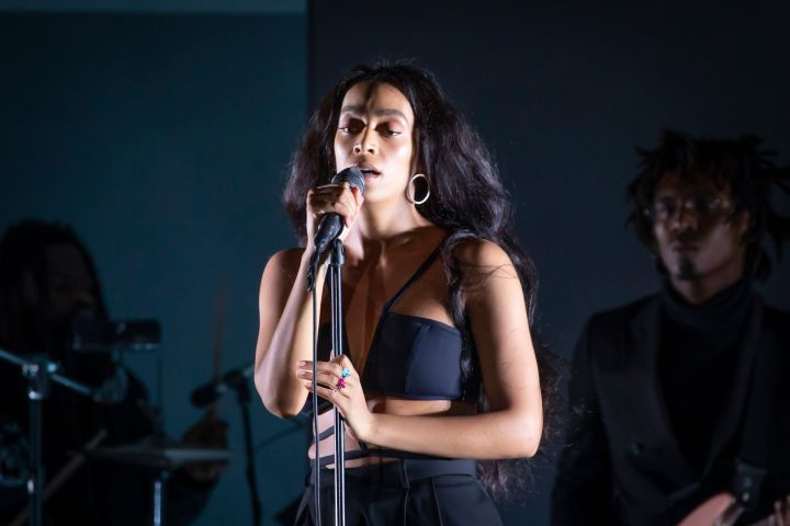 Photo by Michael Hurcomb/Shutterstock (10311057ch) Solange Knowles Bonnaroo Music and Arts Festival, Manchester, USA - 14 Jun 2019