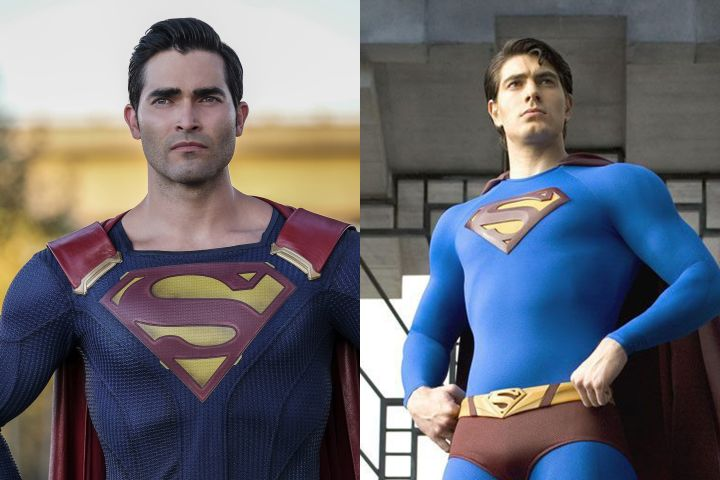 Tyler Hoechlin, Brandon Routh. Photo: The CW/Warner Bros.