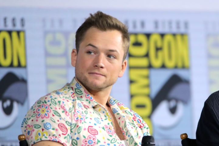 Photo by Chelsea Lauren/Variety/Shutterstock (10341161w) Taron Egerton Netflix's 'The Dark Crystal: Age of Resistance' TV show panel, Comic-Con International, San Diego, USA - 19 Jul 2019