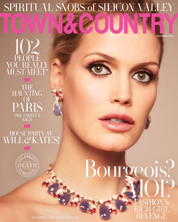 Lady Kitty Spencer - Town & Country
